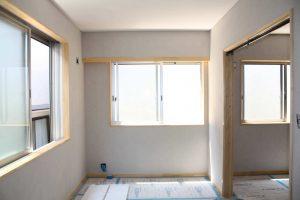 平屋から2階へ改築リフォーム施工中9-高槻