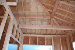 平屋から2階へ改築リフォーム施工中6-高槻