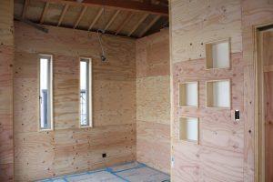 平屋から2階へ改築リフォーム施工中8-高槻