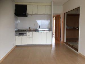 設置完了したブロックキッチン