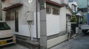 外壁と浴槽の入替完成