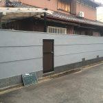 外塀の原状回復リフォーム-茨木