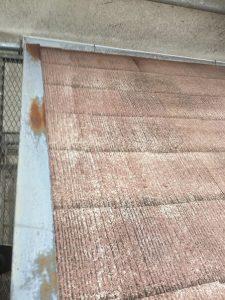屋根リフォーム施工中2-高槻市
