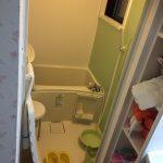 在来浴室にユニットバスを拡張して設置-高槻